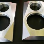 aluminiowe obudowy glosnikow frezowanie CNC 01 150x150 - Aluminiowe przody głośników