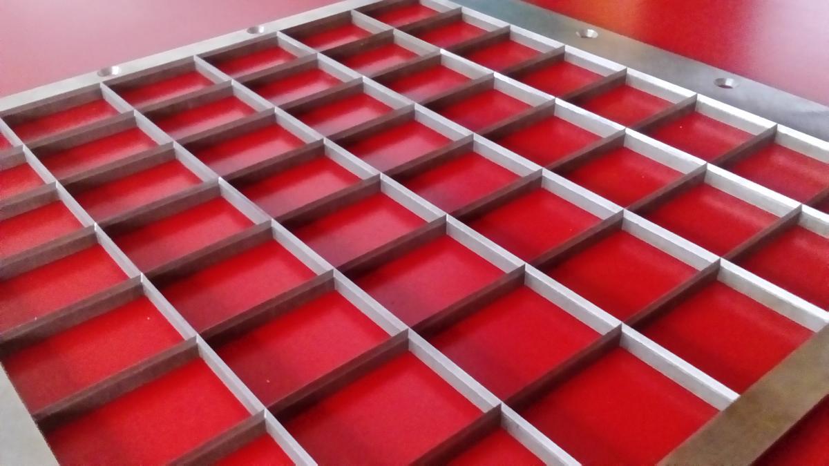 elektrodrazenie ramka kwasoodporna 04 - Realizacje detale, elementy maszyn i urządzeń, urządzenia