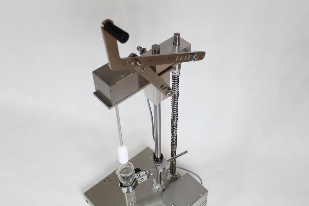 homogenizator 01 - Realizacje detale, elementy maszyn i urządzeń, urządzenia