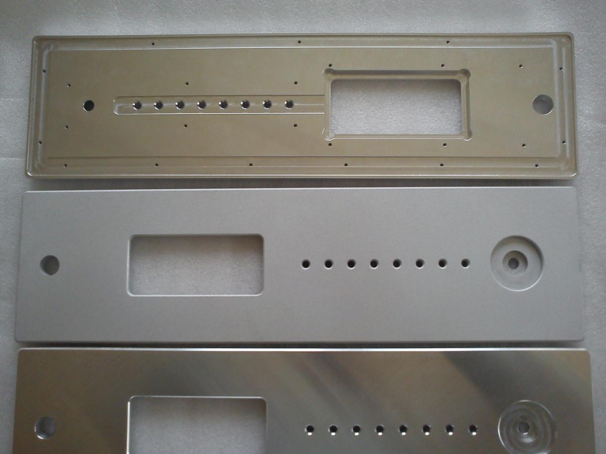 panele audio szkielkowanie CNC 02 - Realizacje detale, elementy maszyn i urządzeń, urządzenia