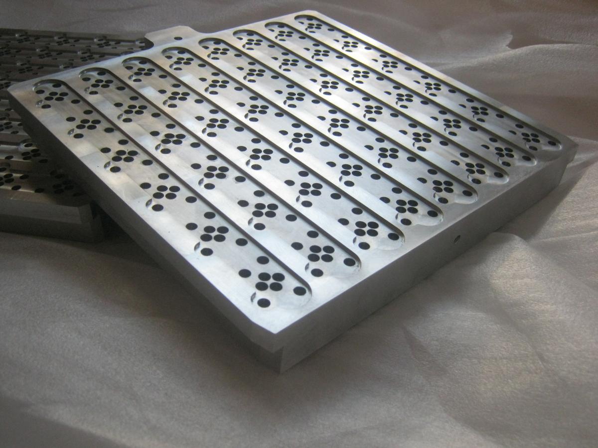 plyty igiel frezowanie aluminium 01 - Produkcja detali
