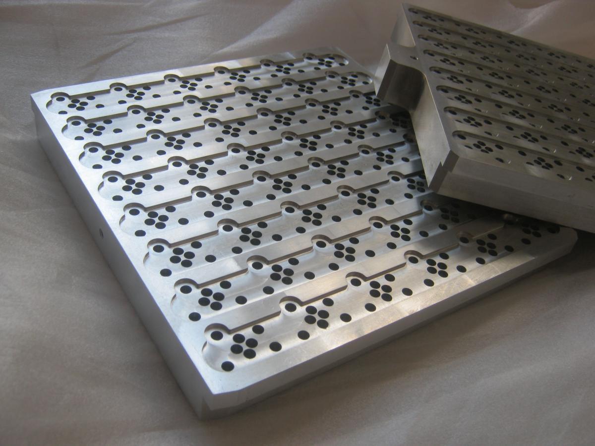 plyty igiel frezowanie aluminium 03 - Realizacje detale, elementy maszyn i urządzeń, urządzenia