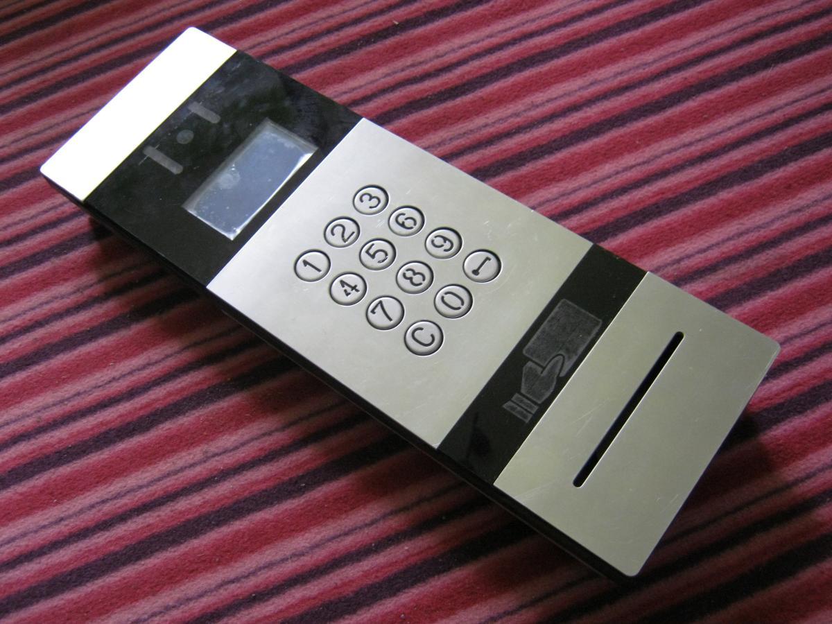 prototyp wideodomofon 01 - Realizacje detale, elementy maszyn i urządzeń, urządzenia